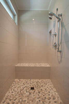 Exceptional Bathroom Remodel Boise Shower Vertical